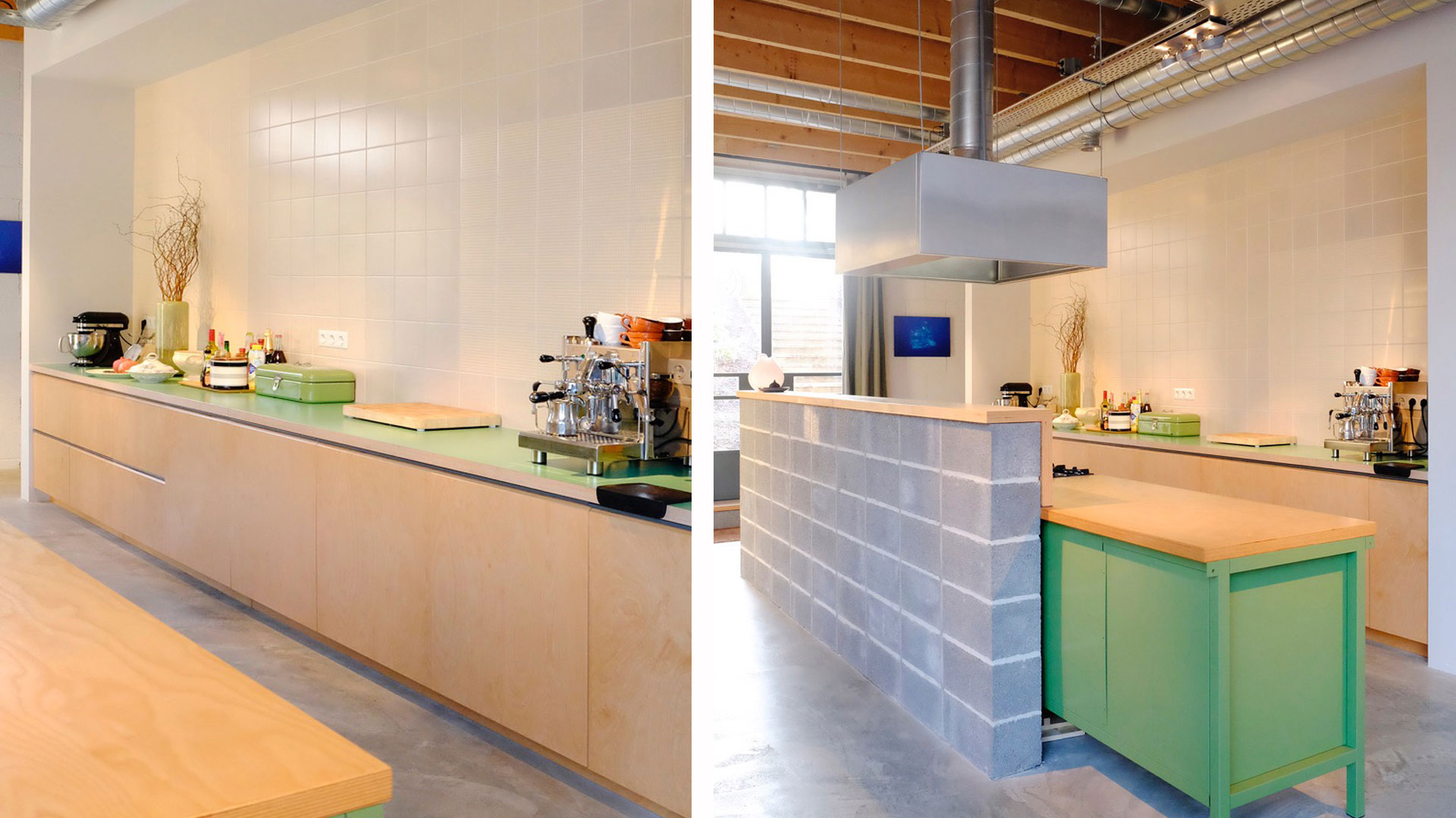 Industriele Keuken Blokmeubel