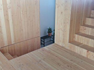 houten woonblok