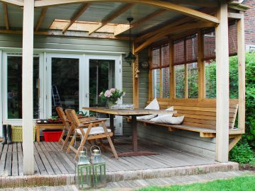 zitje veranda terras