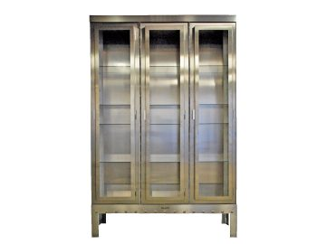 vitrinekast aluminium