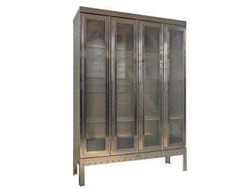 aluminium vitrinekast