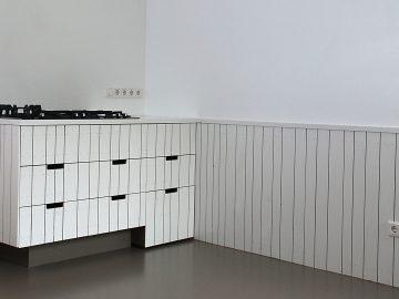 planken wit keuken