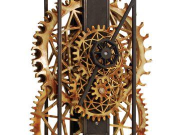 houten klok groot