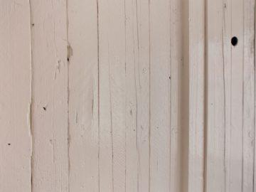 sloophout kast